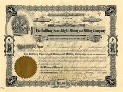 Bullfrog Searchlight Mining and Milling Company - Arizona 1912