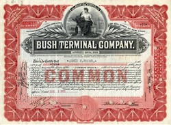 Bush Terminal Company - New York 1932