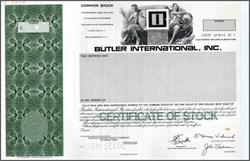 Butler International, Inc.