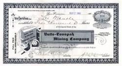 Butte - Tonopah Mining Company 1902 - Tonopah Mining District, Nevada