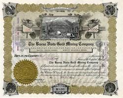Buena Vista Gold Mining Company - Goldfield, Nevada 1908