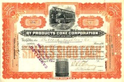 By-Products Coke Corporation ( Now Interlake Corporation )  - Solvay, New York 1920
