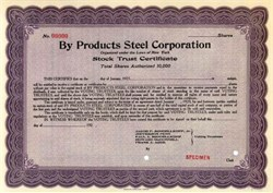By Products Steel Corporation