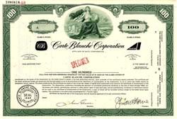 Carte Blanche Credit Card Corporation - Delaware 1968