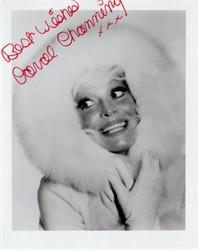 Original Carol Channing Handsigned Photo