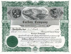 Carbon Company signed by J. Cal Ewing Baseball PCL Founder - Oakland, California 1924