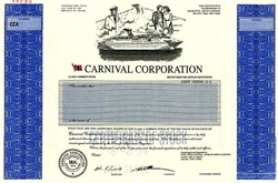 Carnival Corporation (Cruise Lines) - Specimen