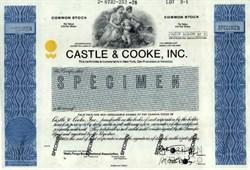 Castle & Cooke, Inc.(Dole Food Company)  -  Hawaii 1978