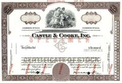 Castle & Cooke, Inc. - Hawaii 1971