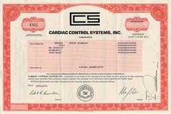 Cardiac Control Systems, Inc. - Delaware 1996