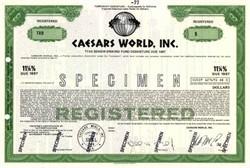 Caesars World, Inc. ( Famous Las Vegas Hotel ) - 1979