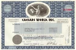 Caesars World, Inc - Famous Las Vegas Caesars Palace Hotel - 1980