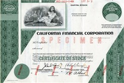 California Financial Corporation - 1969