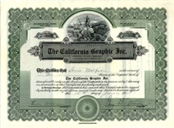 California Graphic Inc. - California 1925