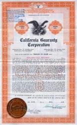 California Guaranty Corporation - 1926 - Los Angeles, California