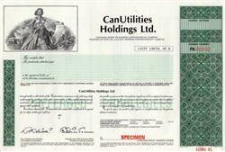 CanUtilities Holdings Ltd. of Canada