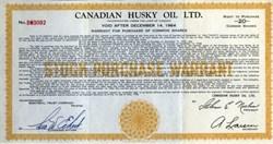 Canadian Husky Oil Ltd. - Canada 1958