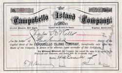 Campobello Island Company - New Brunswick, Canada 1895