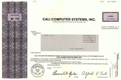 Cali Computer Systems, Inc.