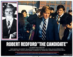 The Candidate Lobby Card Starring Robert Redford - 1972