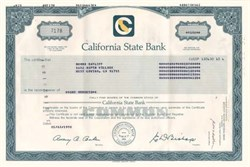 California State Bank