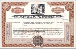 California - Western States Life Insurance Company
