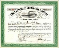 Campbell's Creek Coal Company - Cincinnati, Ohio