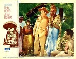 Call Me Bwana Lobby Card Starring Bob Hope and Anita Ekberg - 1962