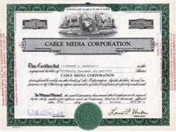 Cable Media Corporation - Delaware 1972