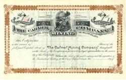 Carmer Mining Company - Aspen, Colorado 1890s