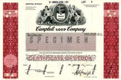 Campbell Soup Company - 1982