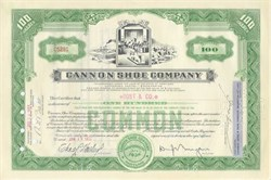 Cannon Shoe Company