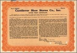 Cantilever Shoe Stores Co., Inc.