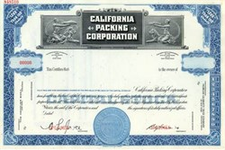 California Packing Corporation ( Now Del Monte )
