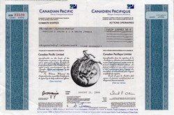 Canadian Pacific Limited - Canada 2000