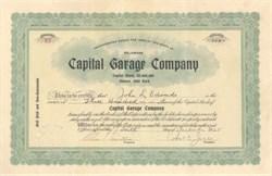 Capital Garage Company 1925