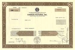 Cannon Pictures, Inc. - California 1991