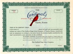 Cardinal Stage Lines Company (Santa Fe Trail Transportation )