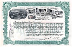 Cash Buyers Union 1905 - Early Catalog Company