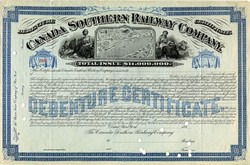 Canada Southern Railway Company - New York 1878