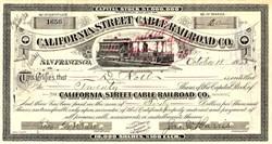 California Street Cable Railroad Co. - California 1928