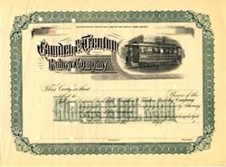 Camden & Trenton Railway Company - New Jersey