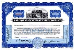 California Water Service Corporation - California 1948