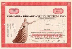 CBS Columbia Broadcasting System (Now Viacom)