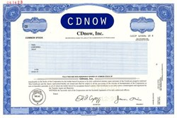 CDnow, Inc. - Pennsylvania 1999