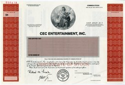 CEC Entertainment, Inc.  -  Chuck E. Cheese -  Kansas, 1998