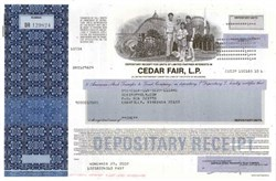 Cedar Fair ( Knott's Berry Farm , Cedar Point, Camp Snoopy )