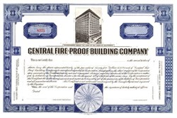 Central Fire Proof Building Company (Became Lofts at the Security Building )  - Los Angeles, California 1912