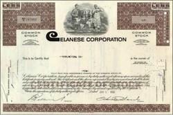Celanese (Hoechst) Corporation Stock
