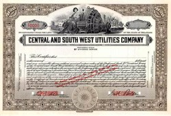Central and South West Utilities Company
